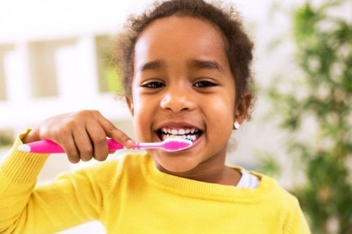Teaching kids about dental hygiene